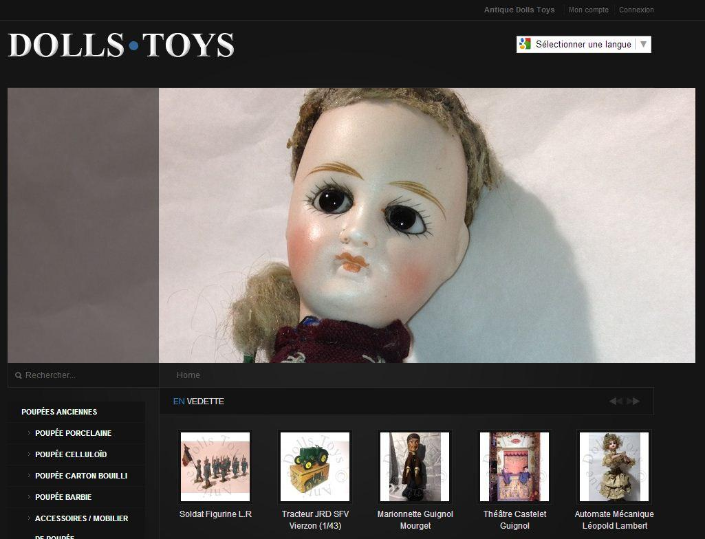 antic dolls toys