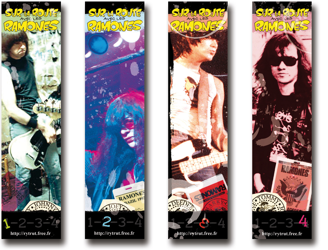 marque-pages ramones